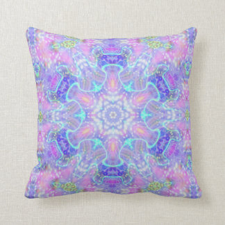 Intertwined Eruption  Throw Pillow