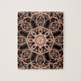 Intertwined Space Mandala Jigsaw Puzzle