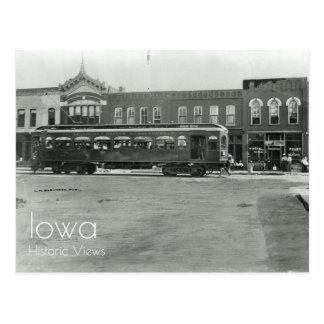 Interurban Car in Ames, Iowa Postcard