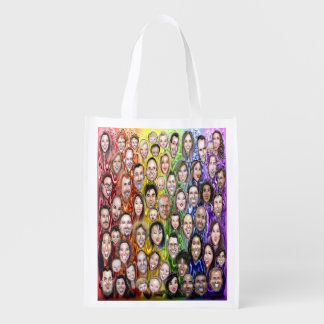 Interwoven Humanity Reusable Grocery Bag