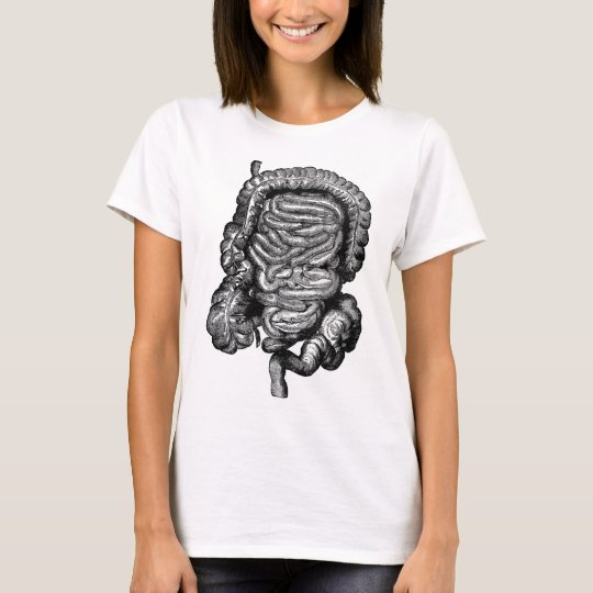 INTESTINES DIAGRAM VINTAGE T-Shirt