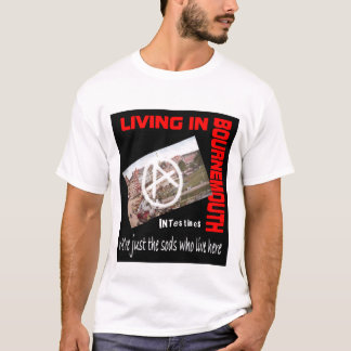Intestines Living In Bournemouth tshirt