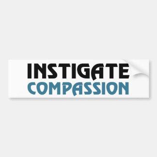 Intigate Compassion (The Great Karma Edition) Bumper Sticker