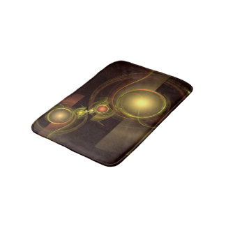 Intimate Connection Abstract Art Bathroom Mat