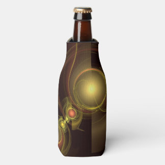 Intimate Connection Abstract Art Bottle Cooler