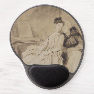 Intimate Conversation by Fragonard Gel Mousepads