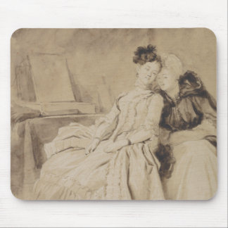 Intimate Conversation by Fragonard Mouse Pad