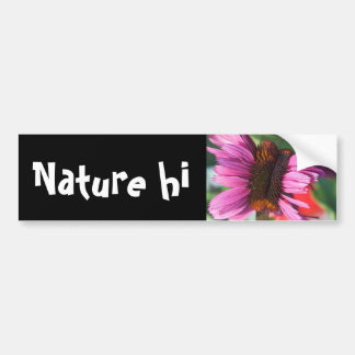 intimately unique bumper sticker