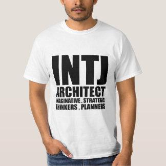 INTJ Architect Introvert T Shirt