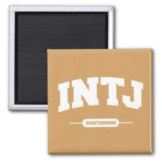 INTJ - Mastermind - University Style Magnet