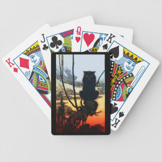 Into A Cat Playing Cards