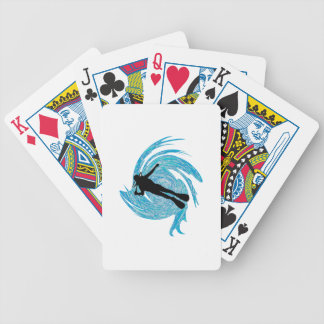 Into the Blue Bicycle Playing Cards