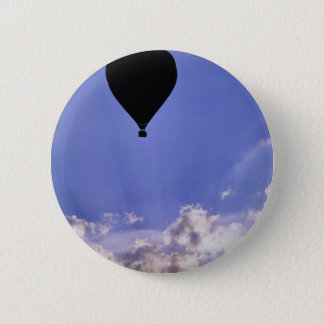 Into the clouds 2 inch round button