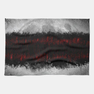 Into the darkness they go... hand towel