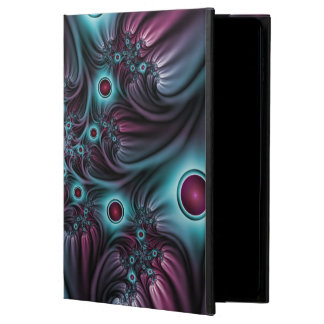 Into the Depth Blue Pink Abstract Fractal Art Powis iPad Air 2 Case