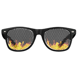 Into the Fire Retro Sunglasses