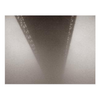 Into the fog postcard