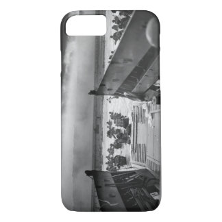 Into The Jaws Of Death LCVP World War II Omaha iPhone 8/7 Case
