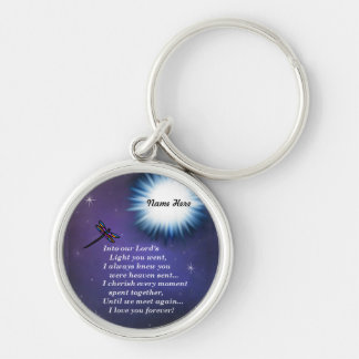 Into The Light Dragonfly Keychain