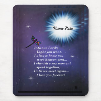 Into The Light Dragonfly Mouse Pad