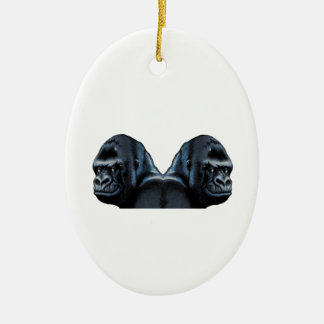 Into the Mist Ceramic Ornament