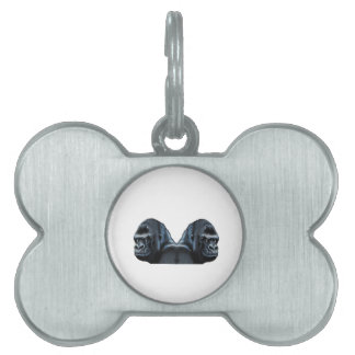Into the Mist Pet ID Tag