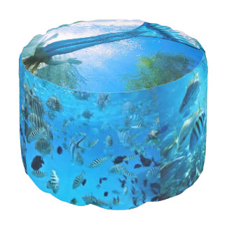 Into the Pool Mermaid Pouf