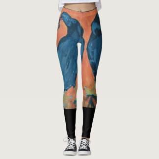 Into the Portals Raven Leggings