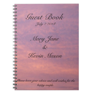 Into The Sunset Guest Book