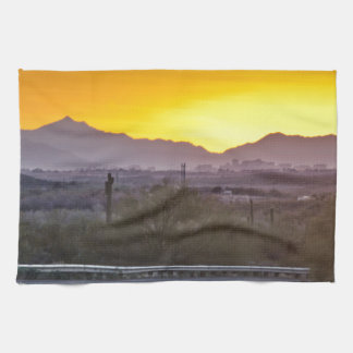 Into the Sunset Hand Towel