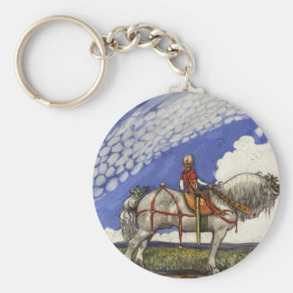 Into the Wide Wide World Basic Round Button Keychain