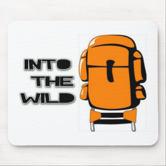 Into The Wild Backpack Mouse Pad