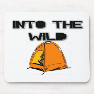 Into The Wild Tent Mouse Pad