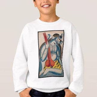 Intoxicated Shiva Holding Lamb Sweatshirt