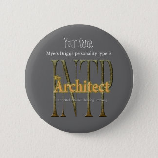 INTP theArchitect 2 Inch Round Button