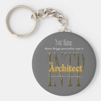 INTP theArchitect Keychain