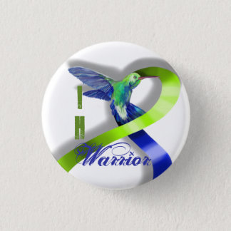 Intracranial Hypertension Warrior 1 Inch Round Button