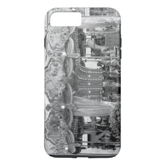 Intricate Black & White Carousel Design From Rome iPhone 7 Plus Case