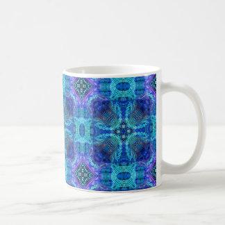 INTRICATE  Blue Pattern Coffee Mug