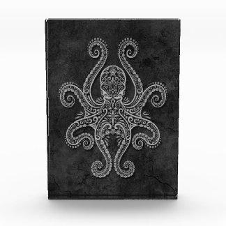 Intricate Dark Stone Octopus