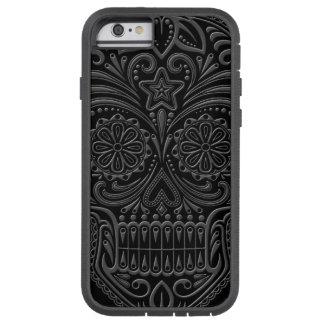 Intricate Dark Sugar Skull Tough Xtreme iPhone 6 Case