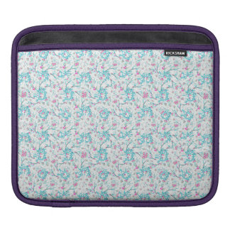 Intricate Floral Collage iPad Sleeve
