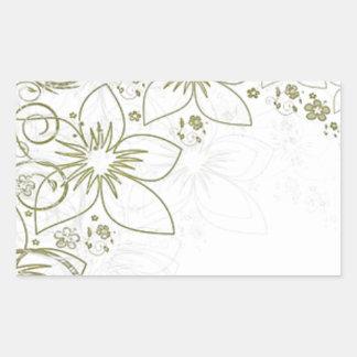 Intricate gold design sticker
