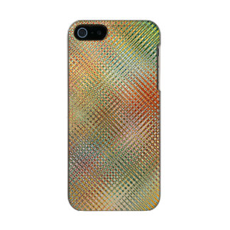 Intricate Gold Yellow Pink Red Green Pattern Incipio Feather® Shine iPhone 5 Case
