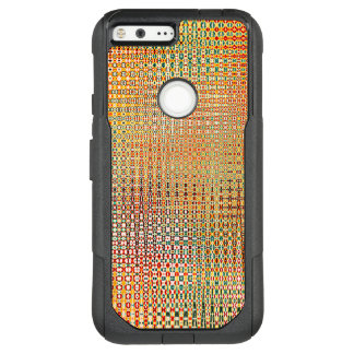 Intricate Gold Yellow Pink Red Green Pattern OtterBox Commuter Google Pixel XL Case