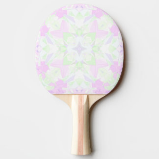 Intricate Kaleidoscope Ping Pong Paddle