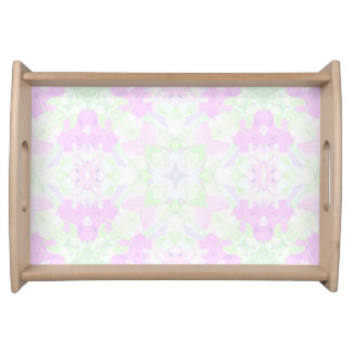 Intricate Kaleidoscope Serving Tray