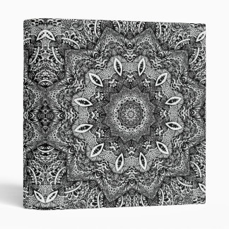 Intricate Kaleidoscope Vinyl Binders