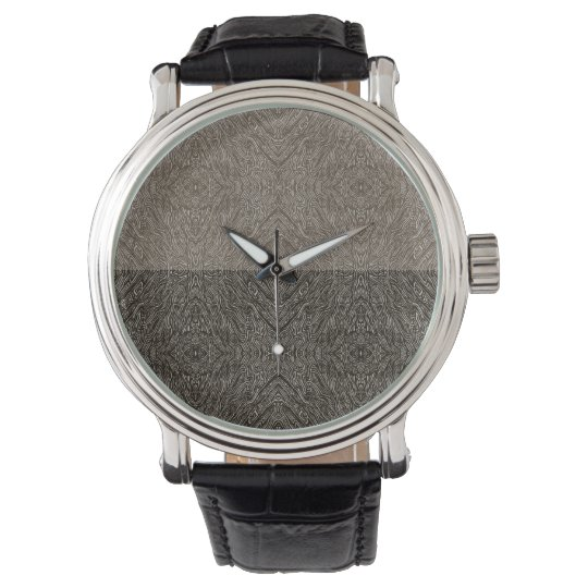 Intricate Vintage Leather Wrist Watches