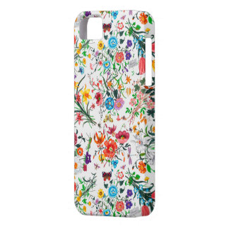 Intricate Vivid Floral iPhone Case